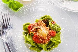 Green Italian Tortellini