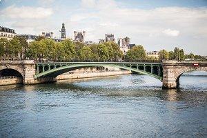 The bridge Pont Notre Dame ,Paris.