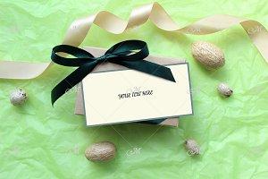 PSD Gift box Mockup