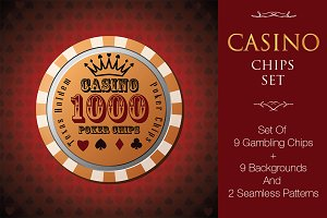 Casino, Poker Chips Set v1 (+bonus)