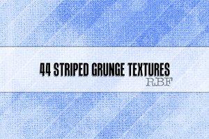 44 Striped Grunge Textures