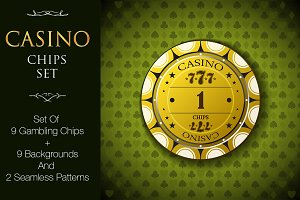 Casino, Poker Chips Set v2 (+bonus)