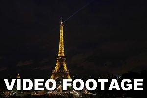 Timelapse of Eiffel Tower