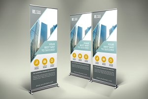 Business Roll Up Banner - SK
