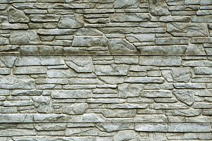 Stone brick wall detailed contrast