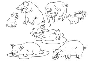 Pigs Set