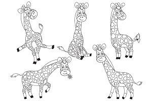 Giraffes Set