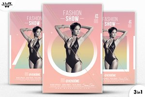 3in1 FASHION WOMEN Flyer Template