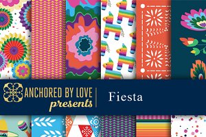 Fiesta Digital Paper