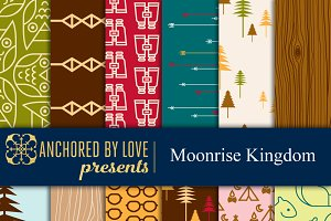 Moonrise Kingdom Digital Paper
