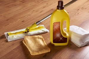 Products for wooden floors