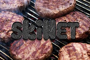 BBQ Photoshop Layer Styles