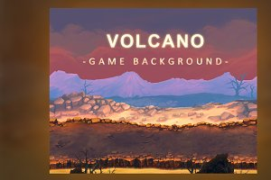 Volcano - Game Background