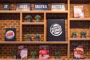 Burger King mockup