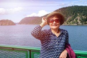 Senior Woman on Adventure
