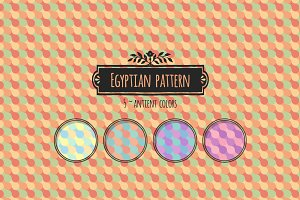 Egyptian Vintage Pattern Set