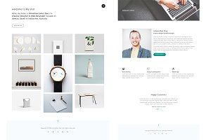 Parel - Portfolio HTML5 template