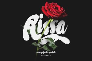 Rissa Typeface + Swashes (Update)