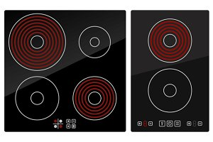 Kitchen Electric hob set