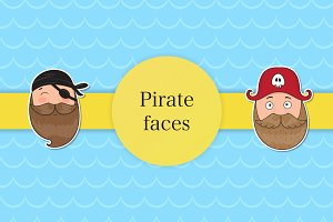 Pirate faces