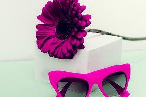 Crimson Stylish Sunglasses