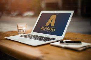 Alphasel / A Letter Logo