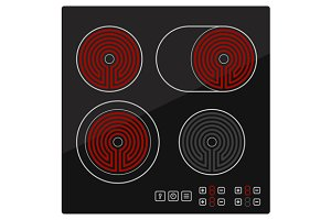 Kitchen Electric hob