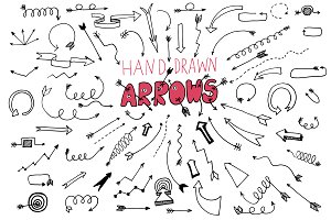 73 Hand Drawn Arrows