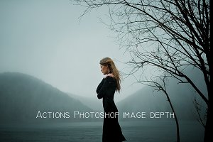 Actions fo Photoshop image depth