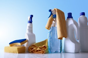 Cleaning products/equipment overview