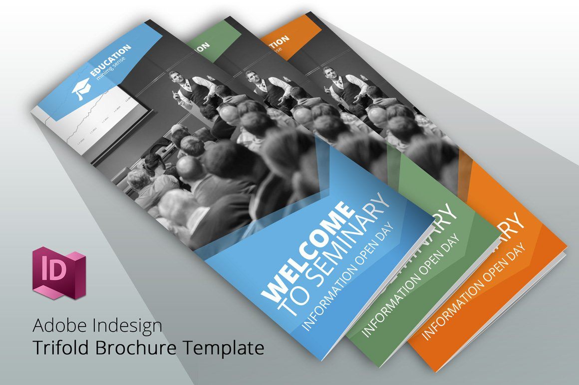 Trifold welcome to seminary brochure templates for Welcome brochure template