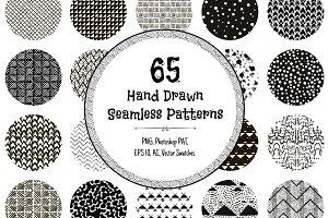 60% OFF! 65 Monochrome Patterns