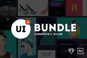 UI Bundle from PixelBuddha {70% OFF}