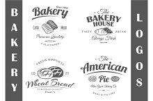 4 Bakery logos templates Vol.2