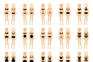 Types of woman underwear