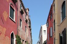 Bella Italia series. Venice - the Pearl of Italy. Street in Venice.
