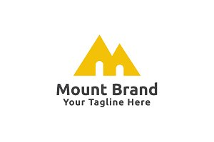 Mount Brand Logo Template