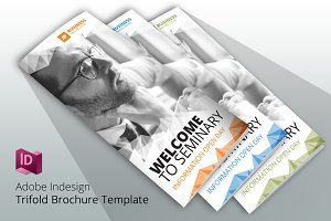 Business Seminary Trifold Design