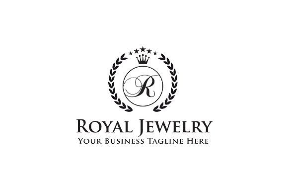 Royal Jewelry Logo Template