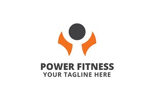 Power Fitness Logo Template