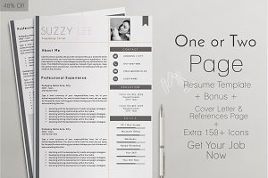 Professional Resume Template 40% OFF