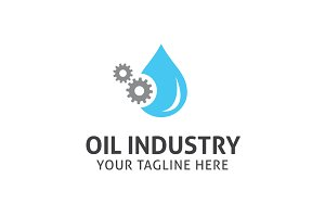 Oil Industry Logo Template