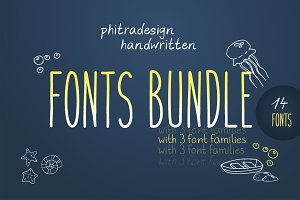 Handwritten Font Bundle