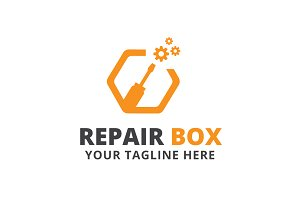 Repair Box Logo Template