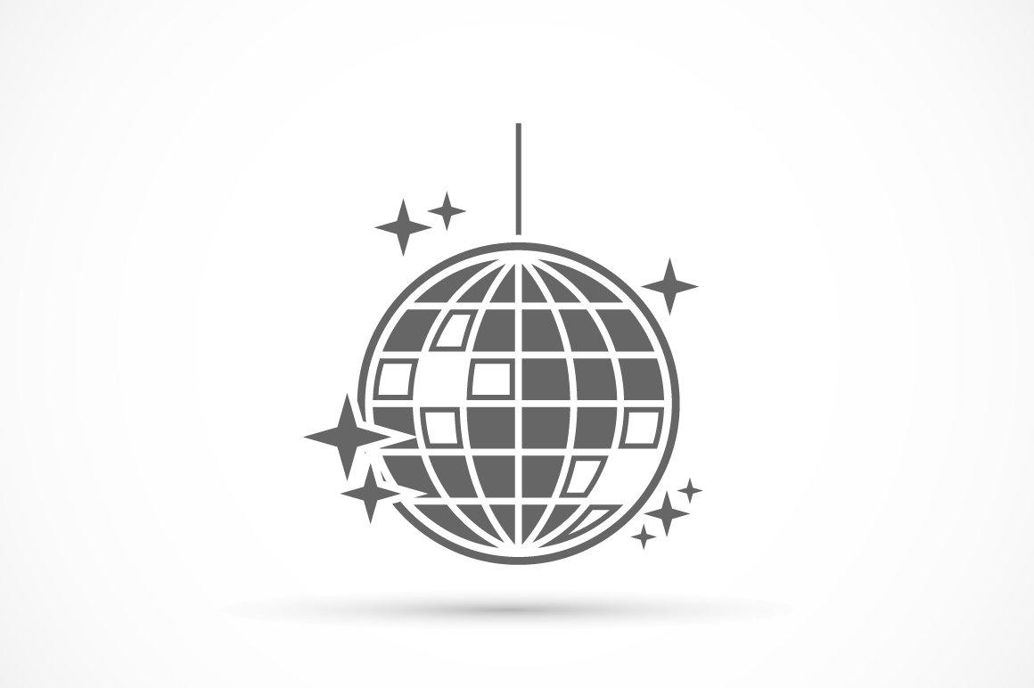 Disco Ball Icon ~ Icons ~ Creative Market