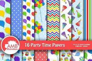 Birthday Party Papers AMB-1237