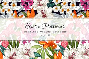 Seamless exotic patterns