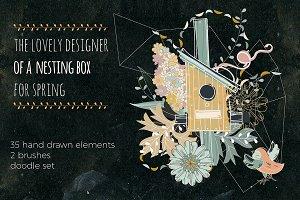 Nesting box doodle