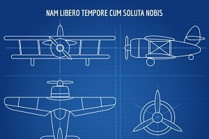 Plane vector blueprint