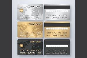 Credit Card (Vector file)